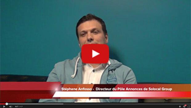 4 min 30 avec Stéphane Anfosso, DG du pôle annonces de Solocal Group