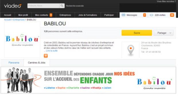 """""""J'ai testé les Pages Entreprises de Viadeo"""", Nathalie Servier, Babilou"""