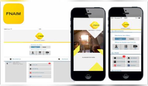 La Fnaim lance Fnaim Immo, sa nouvelle application mobile