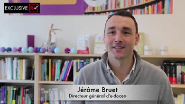 """Vidéo : """"e-doceo change de nom et devient Talentsoft Learning"""", Jérôme Bruet, e-doceo"""