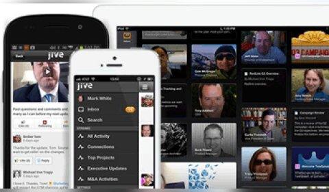 RSE: Jive Software muscle la productivité de ses applications mobiles