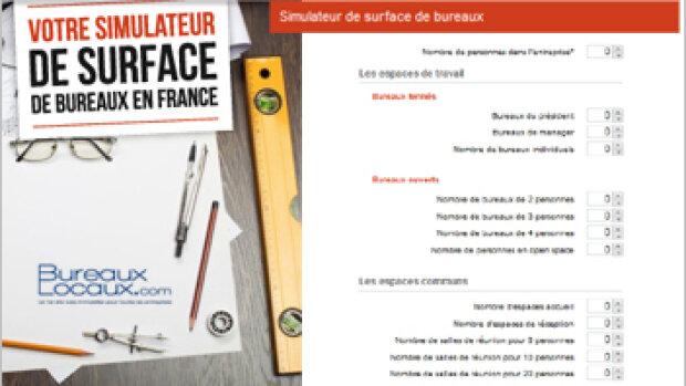 Bureaux-Locaux.com lance un simulateur de surface à destination des entreprises