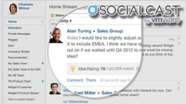 Socialcast se dote d'outils de reconnaissance