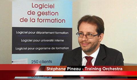 4 min 30 avec Stéphane Pineau, PDG de Training Orchestra