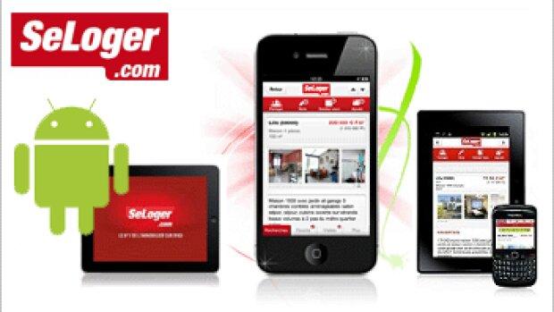 2 millions de téléchargements pour l'application SeLoger.com