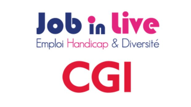 JobinLive et CGI : Succès d'une collaboration en faveur de l'emploi des personnes handicapées