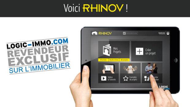 La solution 3D RHINOV sera commercialisée par Logic-Immo.com
