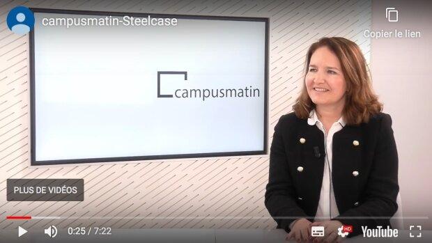 La salle de cours du XXIe siècle (Sandrine Cardinale, Steelcase Education)