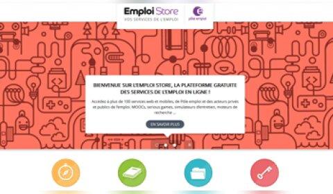 Pôle emploi lance la plateforme de services Emploi Store