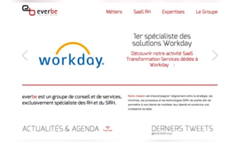 EverBe mise sur Workday