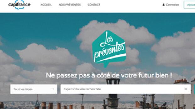 """""""Les préventes"""" : l'optimisation du parcours de vente selon CapiFrance"""