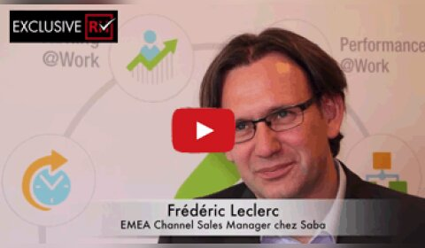 3 min avec Frédéric Leclerc, EMEA Channel Sales Manager de Saba