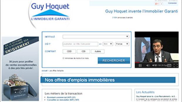 Guy Hoquet continue à recruter massivement en CDI