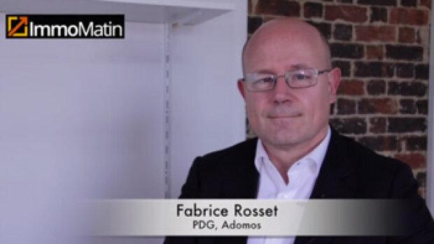 3 min avec Fabrice Rosset, PDG d'Adomos