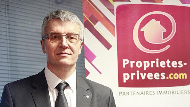 """""""Nous proposons à des professionnels de l'immobilier de monter localement leur propre réseau de mandataires"""", Sylvain Casters, Proprietes-Privees.com"""
