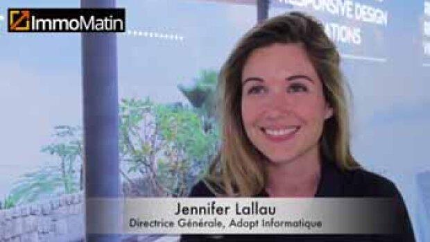 3 min avec Jennifer Lallau, DG, Adapt immo