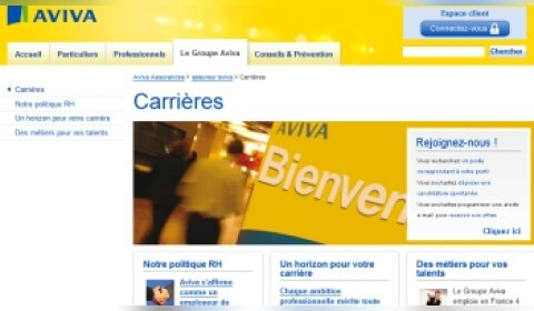 Aviva passe à la version mobile
