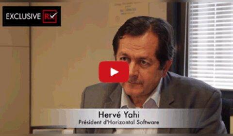 3 min avec Hervé Yahi, président d'Horizontal Software