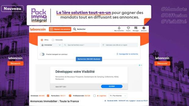 """Pack Immo Intégral : la nouvelle solution """"tout-en-un"""" de leboncoin"""