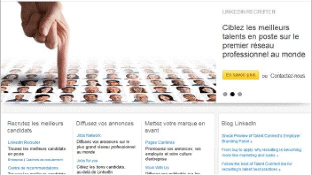 LinkedIn Recruiter se met au français
