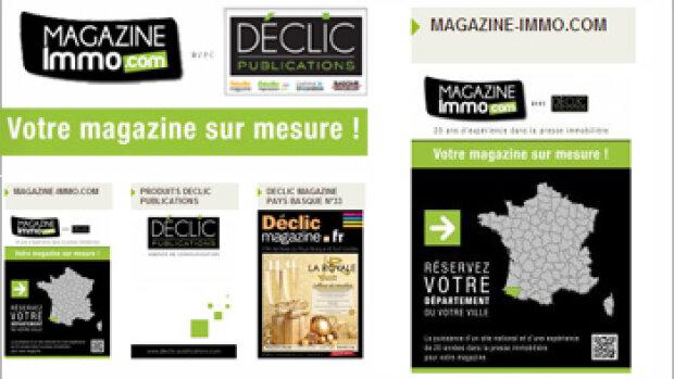 Déclic Publications propose des magazines immo clés en main