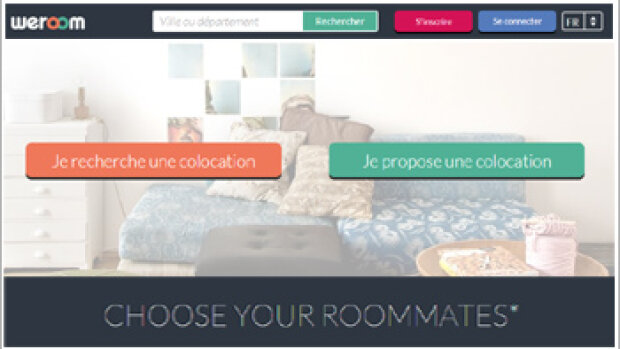 Weroom.com : cette plateforme dédiée à la colocation fera bientôt de l'œil aux agences