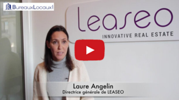 """Témoignage vidéo : """"BureauxLocaux est un portail incontournable dans l'immobilier d'entreprise"""", Laure Angelin, LEASEO"""