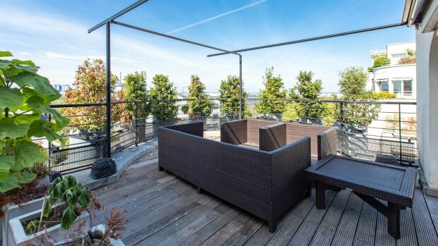 Quels effets des confinements sur les prix des appartements avec terrasses ?