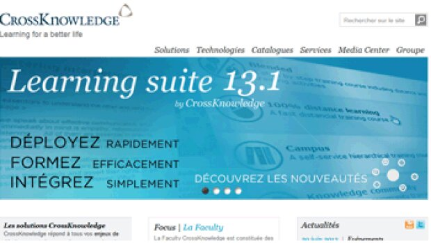 CrossKnowledge lance une nouvelle version de sa plateforme LMS