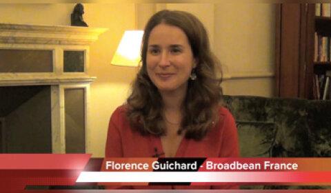 4 min 30 avec Florence Guichard, Broadbean France