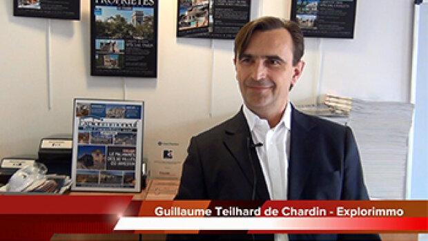 4 min 30 avec Guillaume Teilhard de Chardin, directeur d'Explorimmo