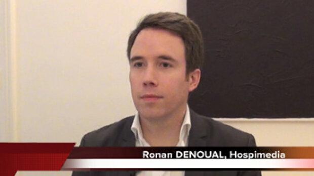 4 min 30 avec Ronan Denoual, directeur associé d'Hospimedia
