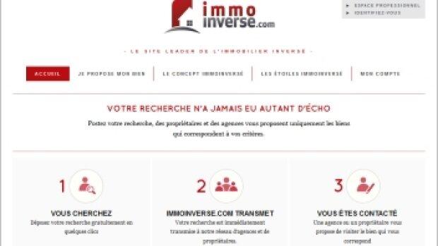 Immoinverse.com, l'annuaire inversé de l'immobilier