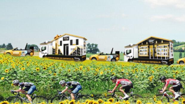Century 21 est partenaire du Tour de France