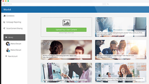 Work4 lance un module de cooptation sur les réseaux sociaux