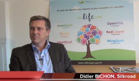 4 min 30 avec Didier Bichon, Vice Président Europe SilkRoad