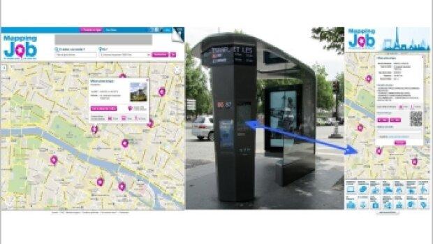 MappingJob : l'offre d'emploi géolocalisée