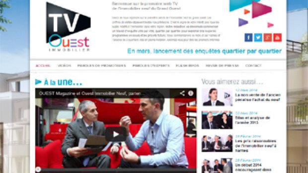 Une nouvelle web TV dédiée à l'immobilier neuf dans l'Ouest