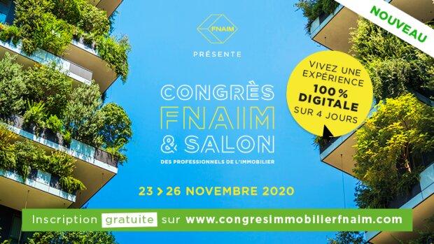 Le Congrès FNAIM se digitalise et devient entièrement gratuit