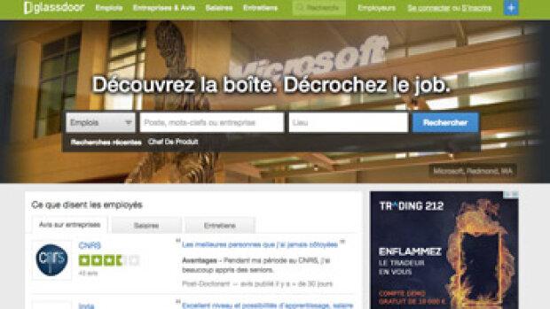 """""""Nous voulons devenir le n°1 de la recherche d'emploi en France"""", P. Moreau, Glassdoor.fr"""