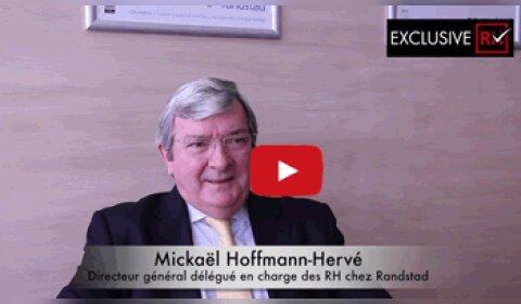 3 min avec Mickaël Hoffmann-Hervé, directeur général délégué en charge des ressources humaines de Randstad