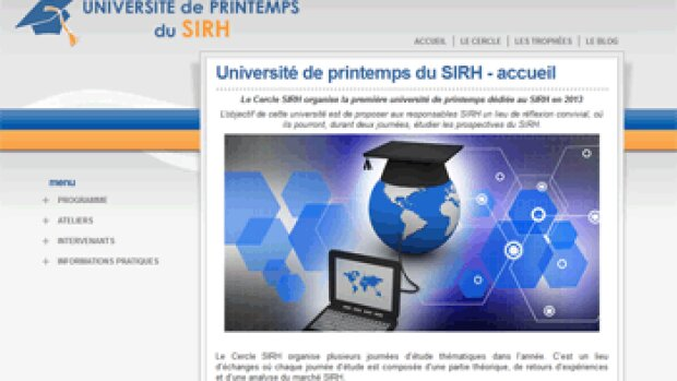 Agenda: Participez à l'université de printemps du SIRH
