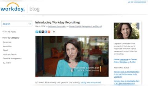 Workday lance une application mobile dédiée au recrutement