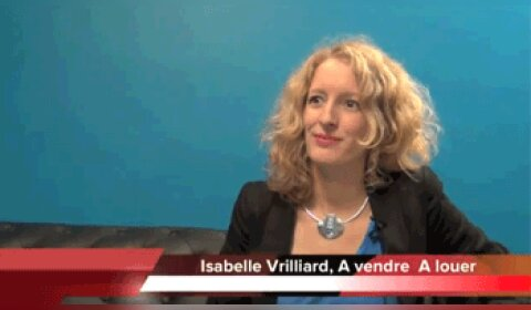 4 min 30 avec Isabelle Vrilliard, directrice générale d'A Vendre A Louer