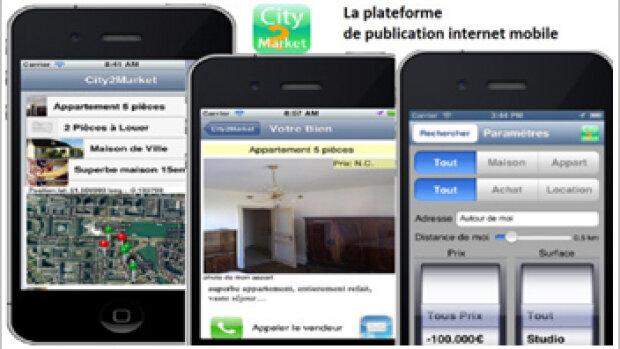 City2Market : une nouvelle application pour géolocaliser les biens