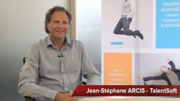 4 min 30 avec Jean-Stéphane Arcis, PDG de TalentSoft