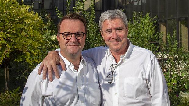 Frédéric Chaminade et Philippe Briand, DG et Président du Groupe Arche - © Christophe Lebedinsky