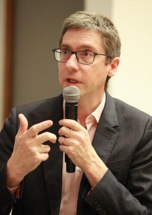 François Germinet, président de CY Cergy Paris Université - © Seb Lascoux
