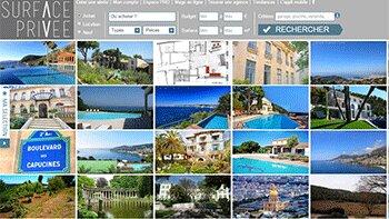 SurfacePrivee innove avec un nouveau site tout en images - D.R.