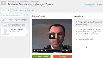 La solution britannique d'entretiens vidéo Launchpad Recruits arrive en France - D.R.